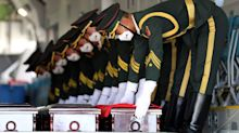 Remains of 117 Chinese soldiers killed in Korean War returned