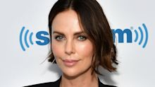 Charlize Theron Looks Totally Different with Baby Bangs