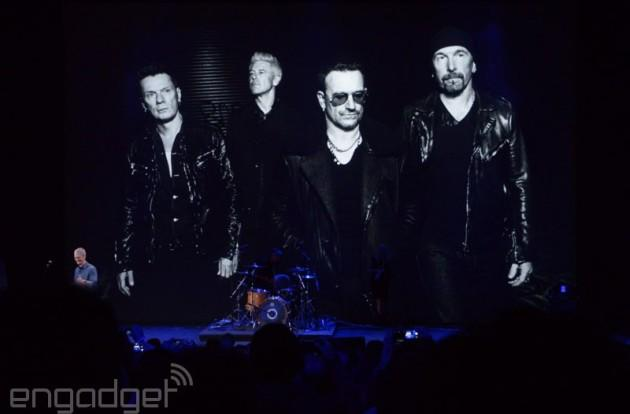 Bono says he's working with Apple on a new music format to fight piracy