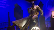 Sinal do Batman ilumina céu da avenida Paulista em São Paulo neste fim de semana