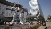 Japan's Gundam robot