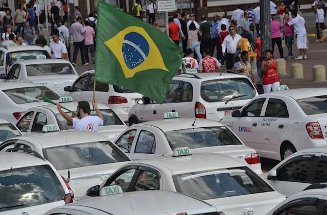 Brazil's biggest city wants to charge fees for Uber rides