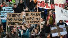 Appel CGT et FO: des dizaines de milliers de personnes dans la rue