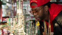 Most Expensivest Shit - 2 Chainz Smokes Out of a $10,000 Bong