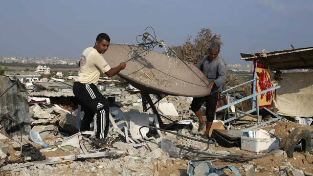 Raw: Israel Destroys Killing Suspects' Homes