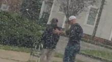 Georgia man praised for stopping traffic to help senior citizen using walker cross the street