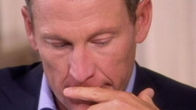 Lance Armstrong Shows His Emotional Side With Oprah Winfrey