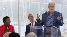 George Lucas breaks ground on L.A.'s Museum of Narrative Art