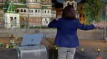 Bonner deixa Renata sem graça na Rússia e momento viraliza na web