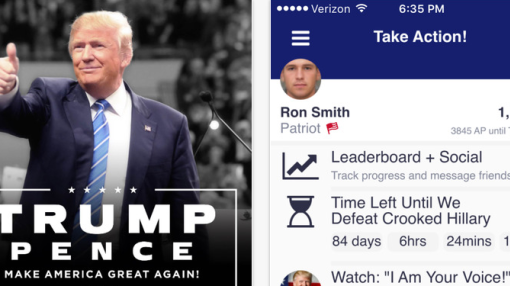 Trump launches America First app, a competitive social network