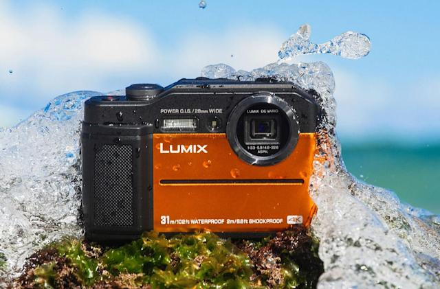 Panasonic's rugged 4K FT7 compact has a built-in EVF