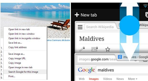 Chrome 30 hits the stable channel with new Android gestures and simpler search by image