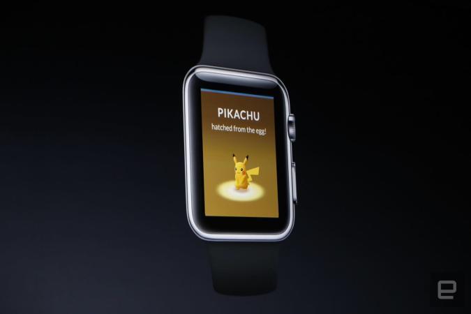 Pokémon Go kommt für die Apple Watch