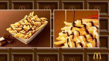 La última locura culinaria de McDonald's: mezclar las patatas fritas con chocolate