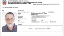 Acusado de matar ator e os pais, Paulo Cupertino consegue identidade falsa com nome de 'Manoel Machado da Silva'