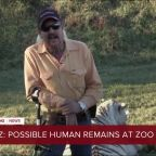 Possible human remains buried at 'Tiger King' zoo in Oklahoma, TMZ reports