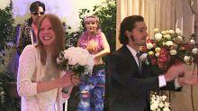 Parece que Shia LaBeouf se casó