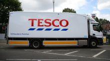 Tesco customers do fewer but bigger shops as sales rise