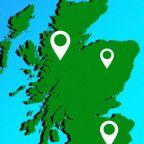Coronavirus cases in Scotland, mapped
