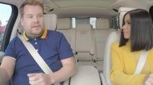 Please Do Enjoy This Clip of Cardi B Crashing a Car During 'Carpool Karaoke' with James Corden