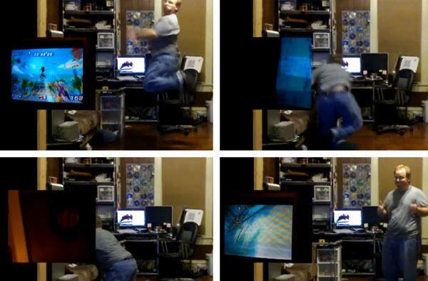 Shocker! Clumsy Kinect players make for entertaining viral videos