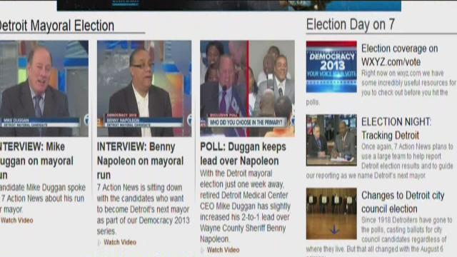 Election coverage on WXYZ.com/vote