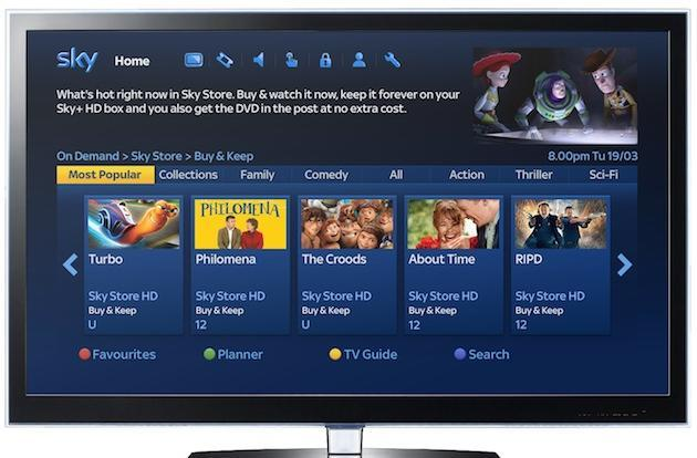 Sky's new 'Buy & Keep' movie store ties a DVD to every download