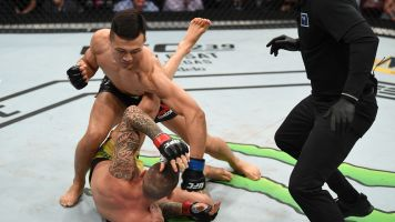 'Korean Zombie' gets quick redemption victory
