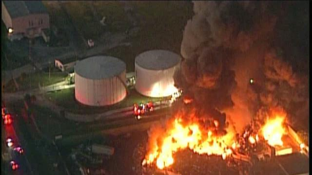 Tampa Industrial Fire - 6am