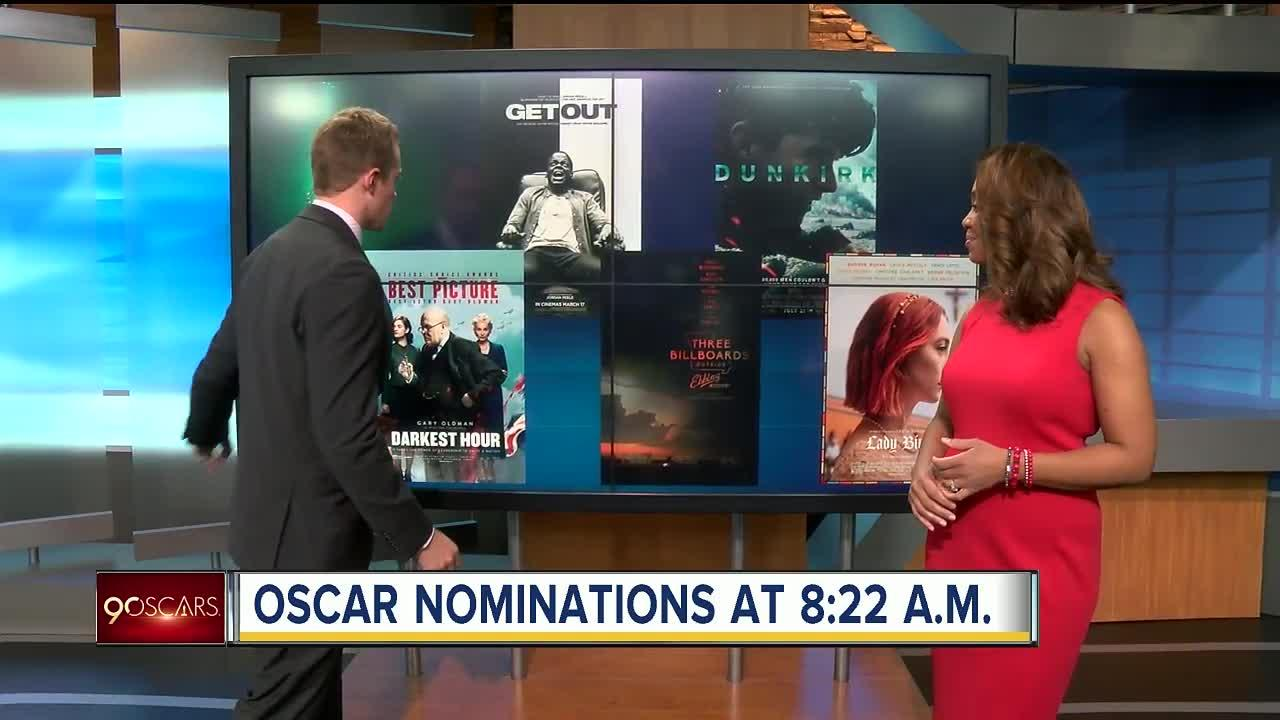 Oscar nominations set for tuesday morning video for 1 2 3 4 monsters walking across the floor