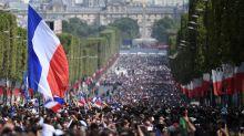 Les Bleus attendus sur les Champs Elysées