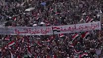Raw: Egyptians Gather in Rival Morsi Rallies