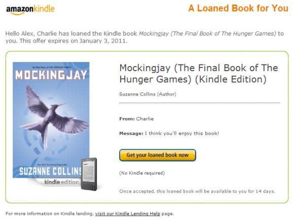 Amazon enables Kindle e-book lending