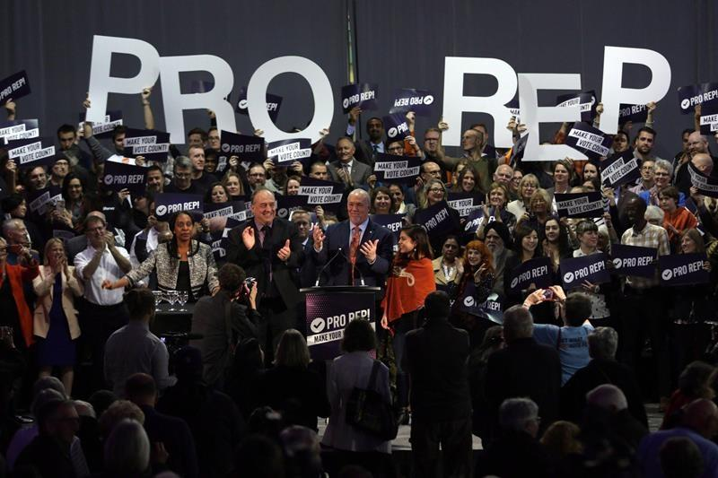 Fewer than half of ballots returned so far in B.C.'s electoral reform referendum