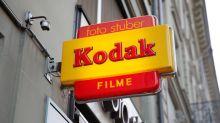 Kodak rally builds after surprise U.S. pharma deal
