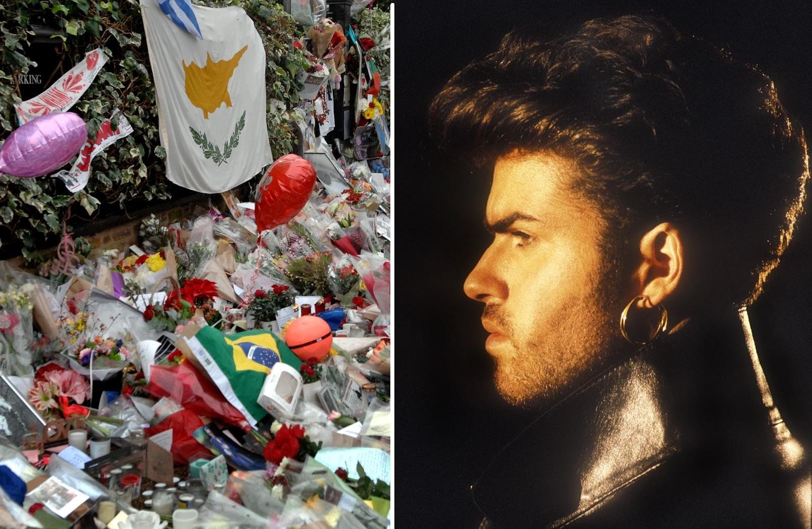 Fans Set Up Memorial To George Michael 12 Months After Death