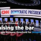 DNC likely to raise polling threshold for November debate