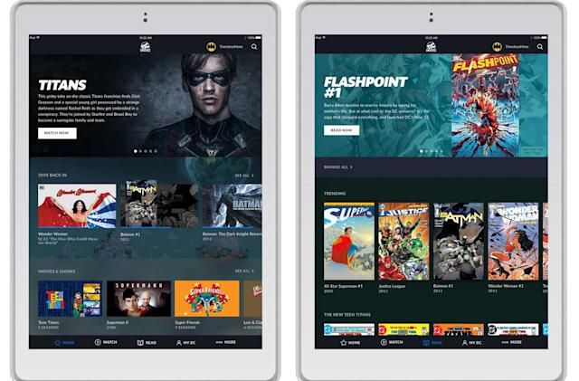 DC's comic streaming service beta launches August 2018