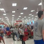 Target registers down in stores around the country, customers report on social media