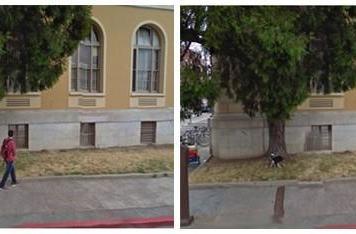 Graduate student erases pedestrians from Google Street View