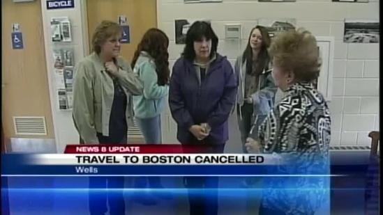 Manhunt disrupts travel from Maine to Boston
