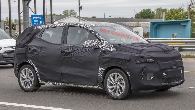 Chevy Bolt EUV electric crossover caught in the wild