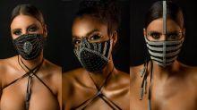 Novo normal? Máscaras de luxo com cristais chegam a custar mais de R$ 1 mil
