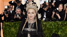 Madonna Wore A Ton Of Crosses To The Met Gala