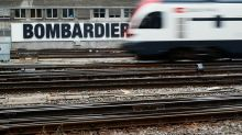 Bombardier shares rise on target commitment, asset sales