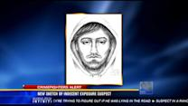New sketch of indecent exposure suspect