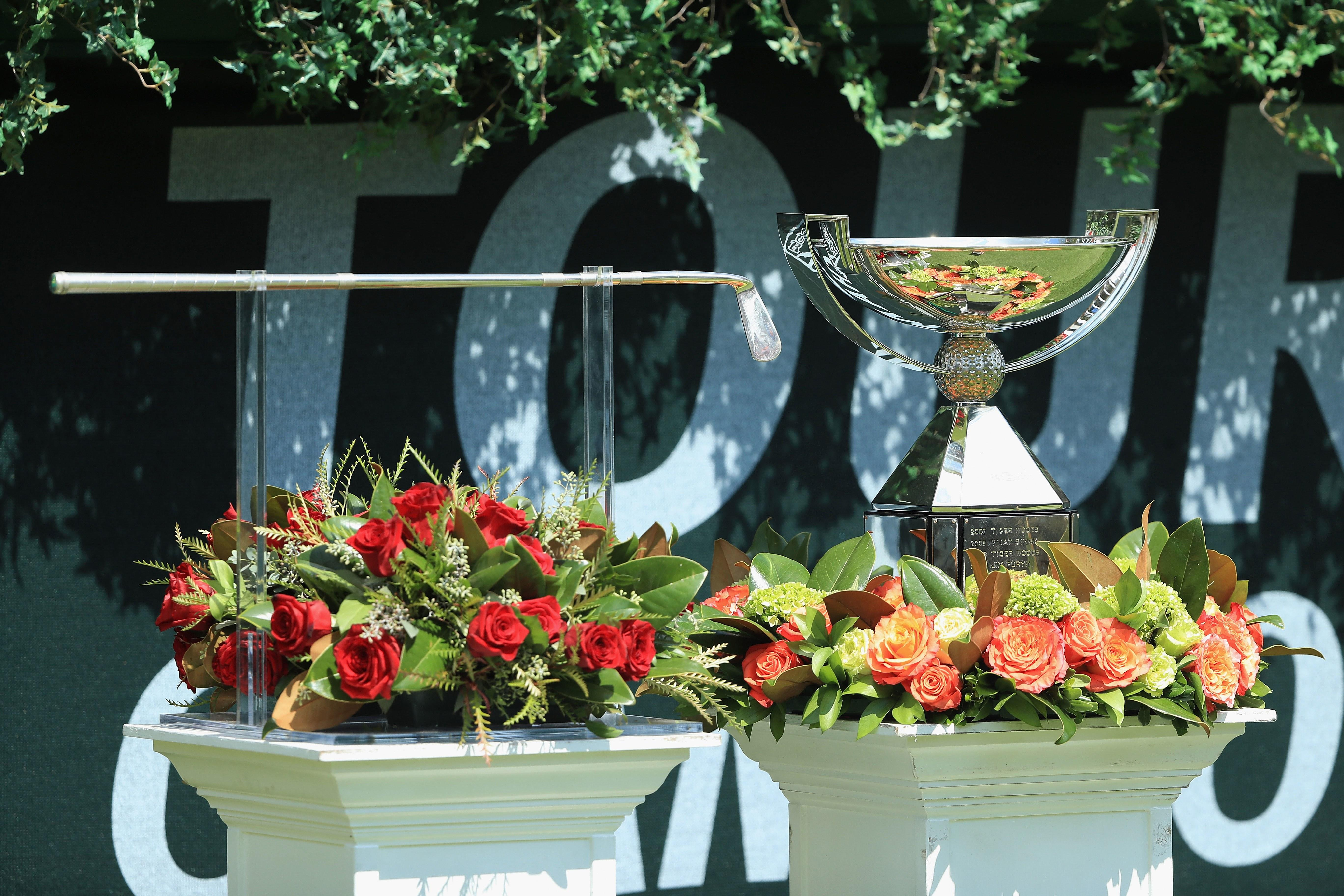 How much prize money each golfer earned at the 2018 Tour Championship
