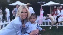 Khloe Kardashian, Tristan Thompson Come Together To Celebrate True's First Birthday