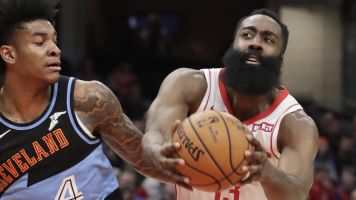 Harden drops 55 after record night from deep