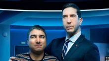 """David Schwimmer on the Fun of Playing a """"Sexist, Pompous, Ignorant"""" American on Intelligence"""